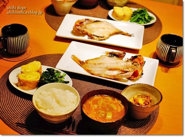 金目鯛の干物定食_f0179404_21175377.jpg
