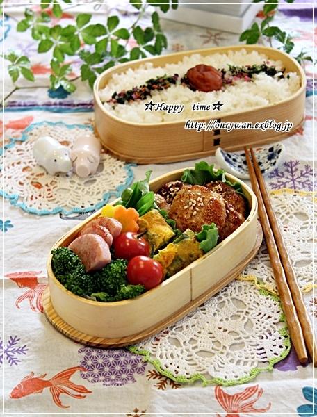 つくねの照焼き弁当と常備菜作りと~♪_f0348032_18151086.jpg