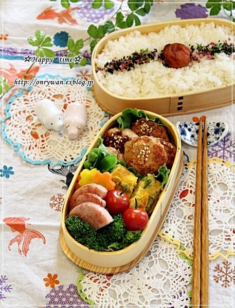 つくねの照焼き弁当と常備菜作りと~♪_f0348032_18152300.jpg