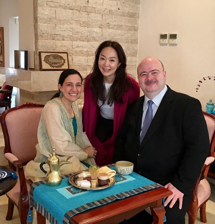 ヨルダン王国大使ご夫妻と_d0334837_10115555.jpg