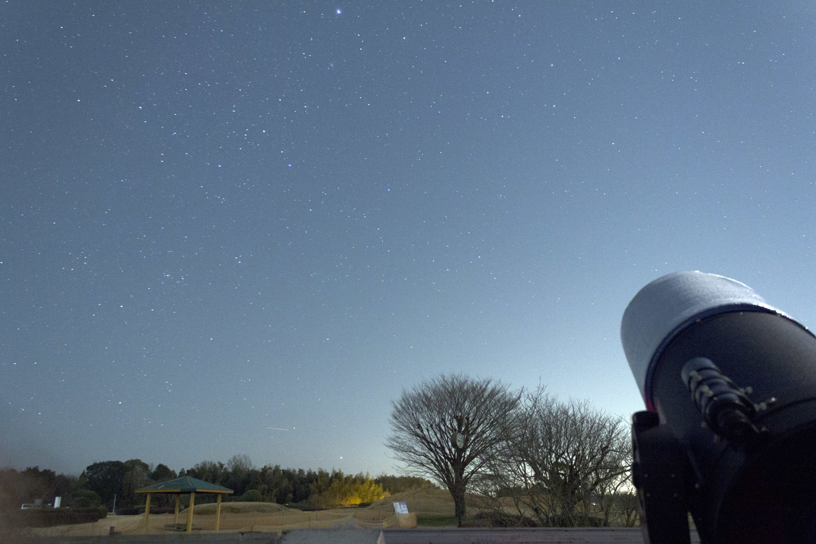 3月4日のカノープスと金星_e0174091_10435459.jpg