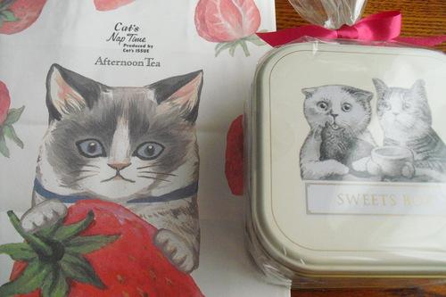 アフタヌーンティールーム 『ネコのパティシエ スイーツボックス』_a0326295_18102579.jpg