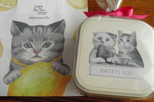 アフタヌーンティールーム 『ネコのパティシエ スイーツボックス』_a0326295_1895065.jpg