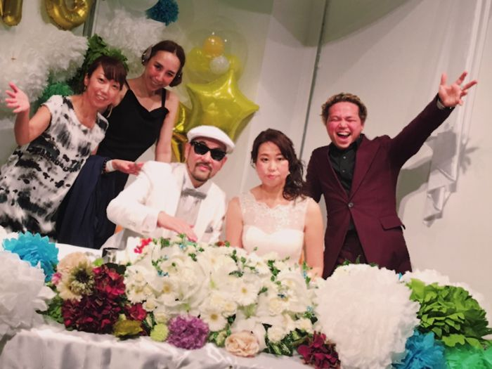 DJ KOOH the funky Wedding Party!☆_a0050302_0232822.jpg