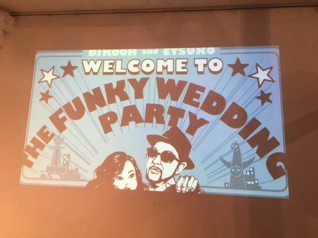 DJ KOOH the funky Wedding Party!☆_a0050302_0305858.jpg