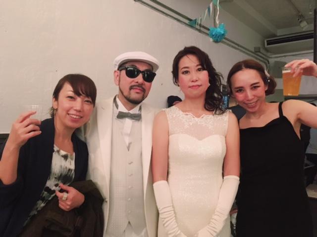 DJ KOOH the funky Wedding Party!☆_a0050302_0332889.jpg