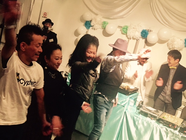 DJ KOOH the funky Wedding Party!☆_a0050302_0384917.jpg