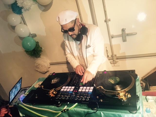 DJ KOOH the funky Wedding Party!☆_a0050302_0393561.jpg