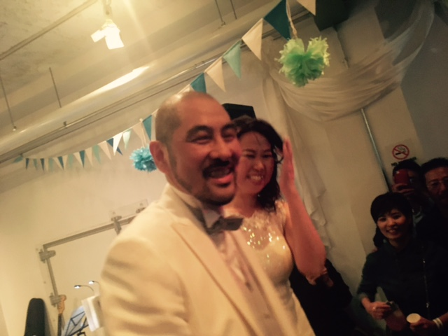 DJ KOOH the funky Wedding Party!☆_a0050302_0535066.jpg