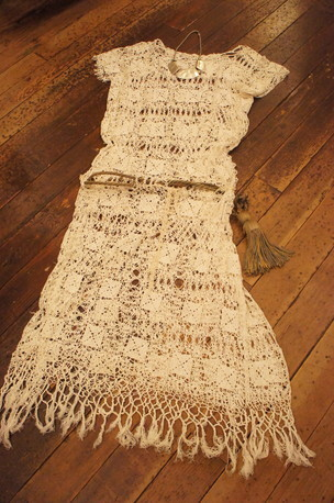 French Antique Lace DRESS_f0144612_05140219.jpg