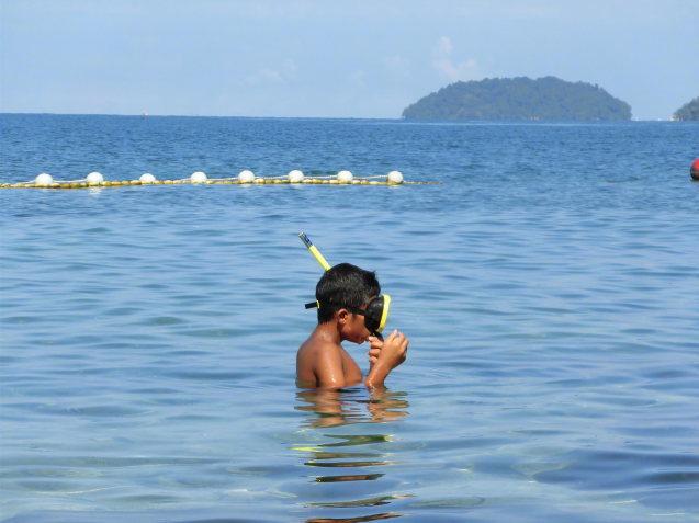 コタキナバル旅行の思い出 サピ島_d0336014_12183304.jpg