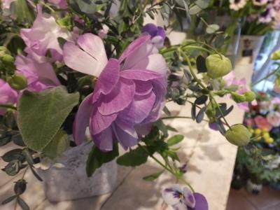 オークリーフ花の教室(石川さんの作品)_f0049672_14424618.jpg