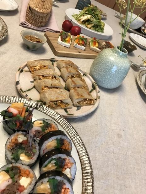 昨日の韓国料理会_c0143073_10265330.jpg