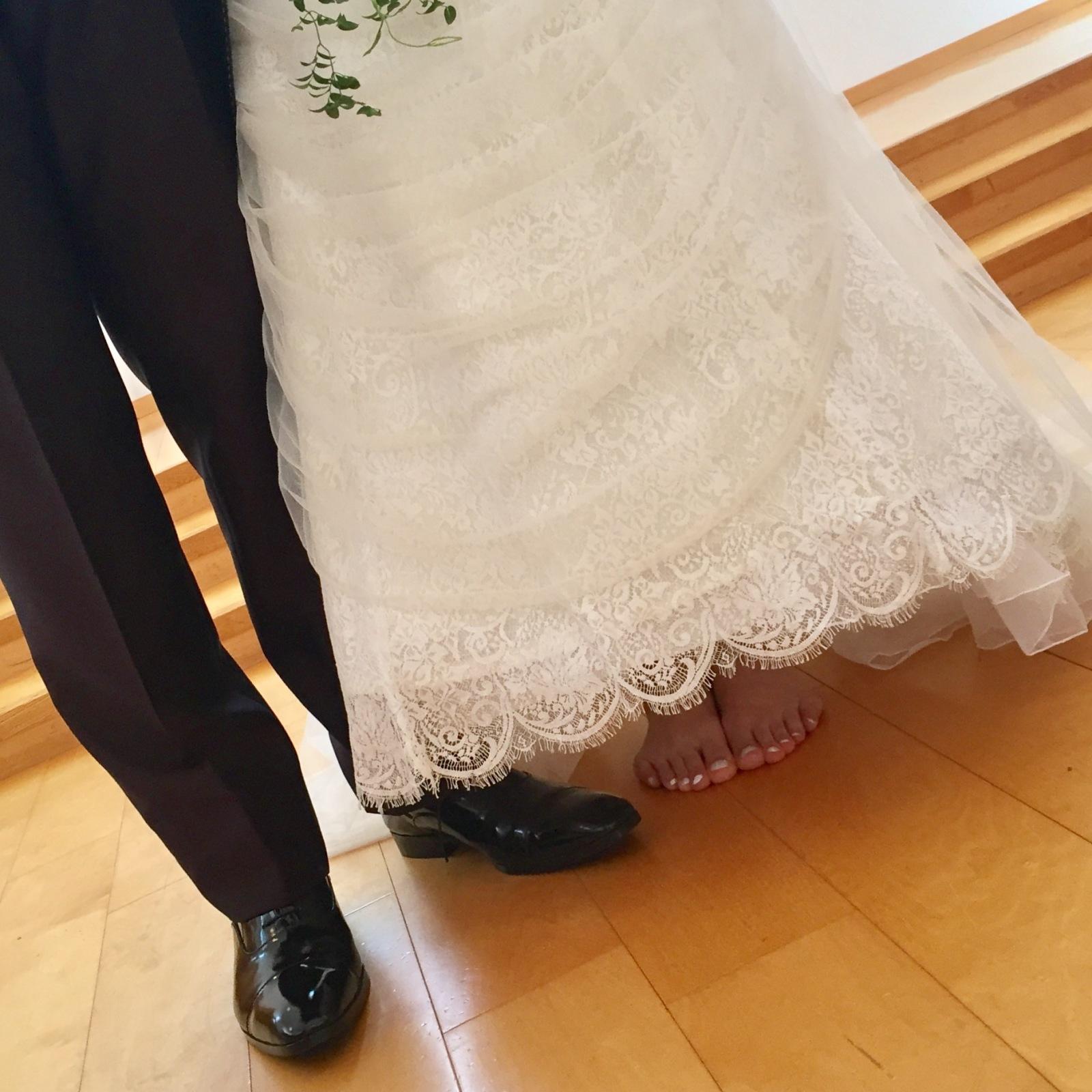 裸足の花嫁_e0120789_20315234.jpg