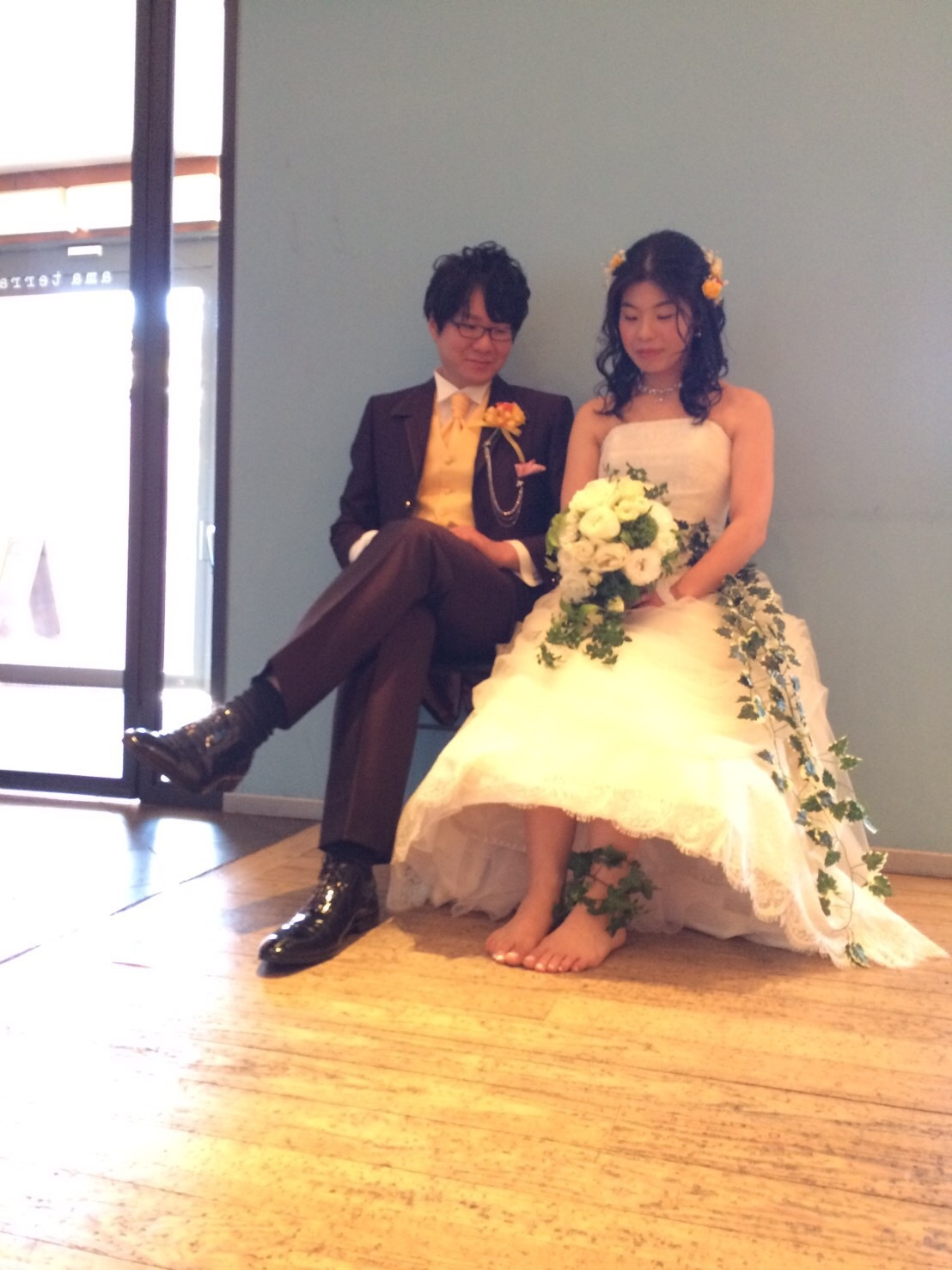 裸足の花嫁_e0120789_20354221.jpg