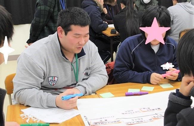 県立新潟翠江高校においてワークショップ「便利の裏側」を行ないました_c0167632_14400617.jpg