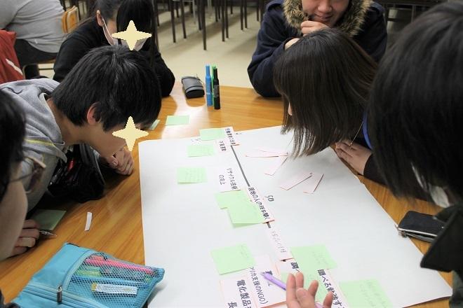 県立新潟翠江高校においてワークショップ「便利の裏側」を行ないました_c0167632_14402555.jpg