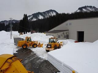 雪入れ開始_d0122374_091676.jpg