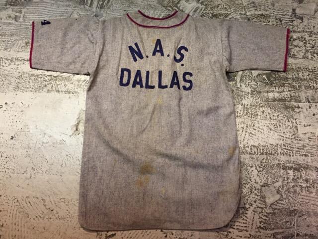 3月8日(水)大阪店春物ヴィンテージ入荷!#9 アスレチックウェア編!U.S.N.BaseballShirt&S/S Sweat!!_c0078587_10505552.jpg