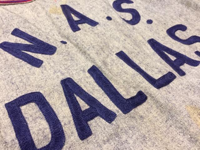 3月8日(水)大阪店春物ヴィンテージ入荷!#9 アスレチックウェア編!U.S.N.BaseballShirt&S/S Sweat!!_c0078587_10533813.jpg