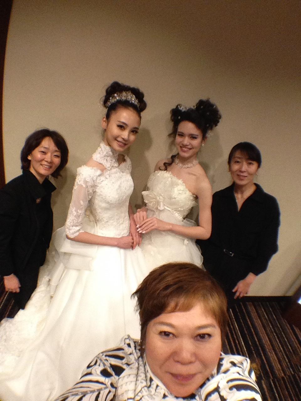 美容組合高度研修in金沢にて行われたコレクション形式のブライダルイベント_a0327601_14020754.jpg
