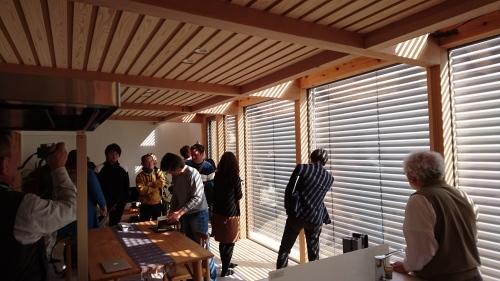 西方設計試作住宅の見学会がありました。_f0150893_17101419.jpg