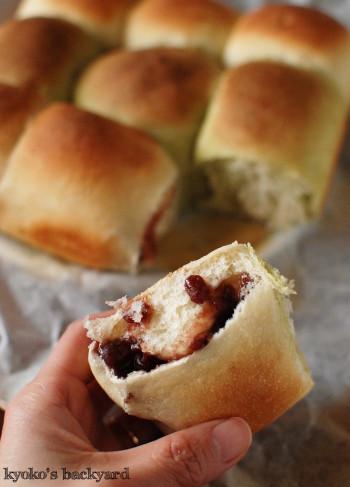 ちぎり餡パンとぶどうパン_b0253205_03160521.jpg