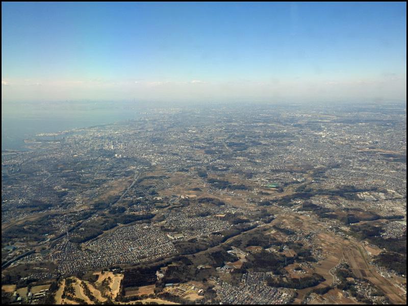 東京に来ました~(飛行機の中から撮影)_b0019313_16373641.jpg