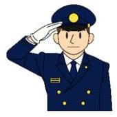 福岡県警ヘリコプター。_b0044115_8175725.jpg
