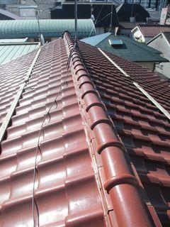 板橋区の成増で、瓦屋根修理工事_c0223192_22190325.jpg