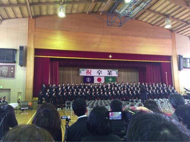卒業おめでとう。part2_d0171222_22440871.jpg