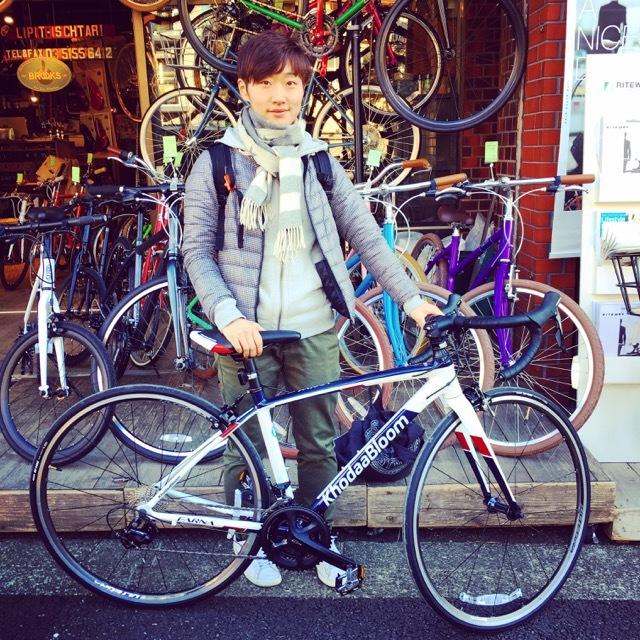 ☆今日のバイシクルガール☆ 自転車女子 おしゃれ自転車 自転車ガール 自転車女子 ミニベロ クロスバイク ライトウェイ ラレー ブルーノ フジ_b0212032_17154291.jpg