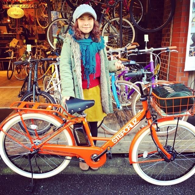 ☆今日のバイシクルガール☆ 自転車女子 おしゃれ自転車 自転車ガール 自転車女子 ミニベロ クロスバイク ライトウェイ ラレー ブルーノ フジ_b0212032_17155845.jpg