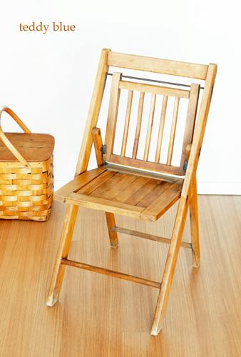 antique folding chair  アンティークホールディングチェア_e0253364_16144087.jpg