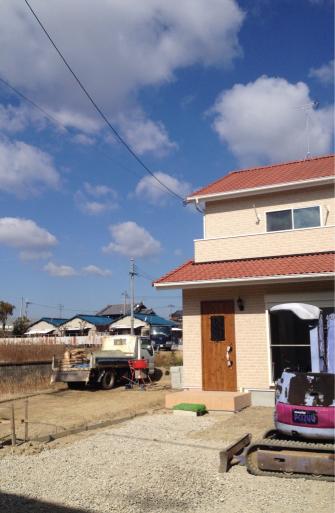 祝完成❗️〜赤い屋根のかわいい家〜_f0206977_10511747.jpg