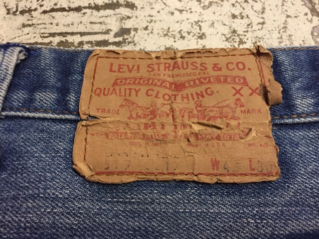 Vintage Levi\'s Denim&Leather Bottoms!!(マグネッツ大阪アメ村店)_c0078587_23282022.jpg