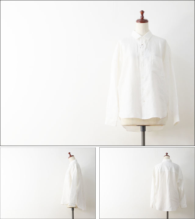 LE GLAZIK [ル グラジック] LINEN CLOTH SHIRTS [JL-3614KLS] LADY\'S_f0051306_16222686.jpg
