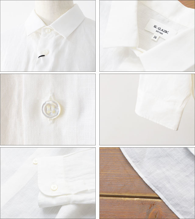 LE GLAZIK [ル グラジック] LINEN CLOTH SHIRTS [JL-3614KLS] LADY\'S_f0051306_16222692.jpg