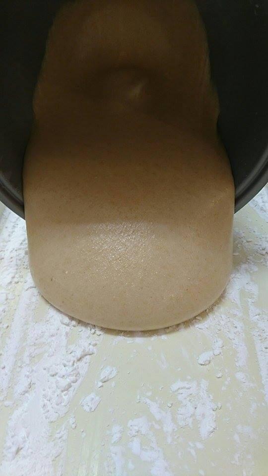有機な「玄米餅」&「トマトソース」作り_a0125419_05072169.jpg