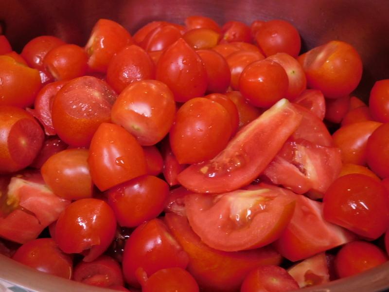 有機な「玄米餅」&「トマトソース」作り_a0125419_05201872.jpg