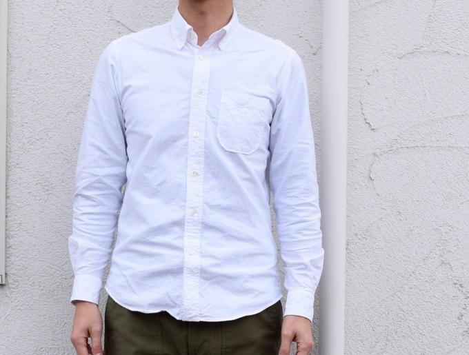 春だからって言うわけじゃないけれど 白いシャツ_d0334060_17060579.jpg