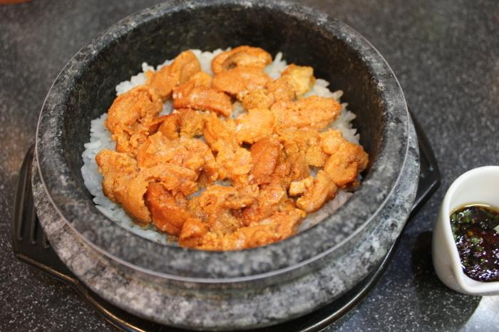 ウニご飯と南風おつまみ_a0223786_10571843.jpg