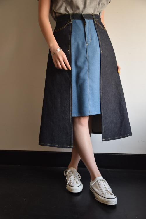 貴女色に染まるスカート 。_b0110586_18150260.jpg