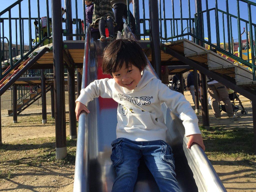 りくろーおじさんと公園_c0113733_19543449.jpg