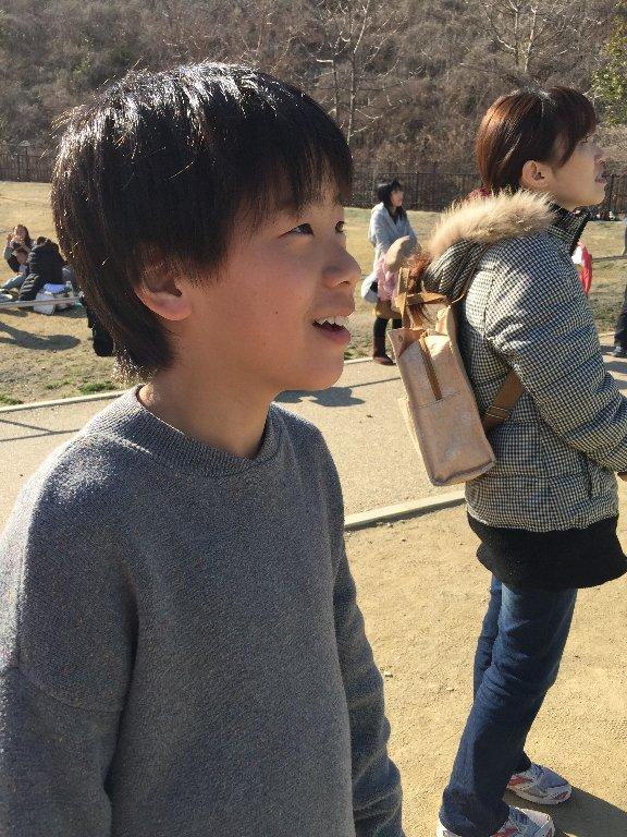 りくろーおじさんと公園_c0113733_19561538.jpg