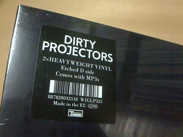昨日到着レコ〜 Dirty Projectors / Dirty Projectors_c0104445_20521857.jpg
