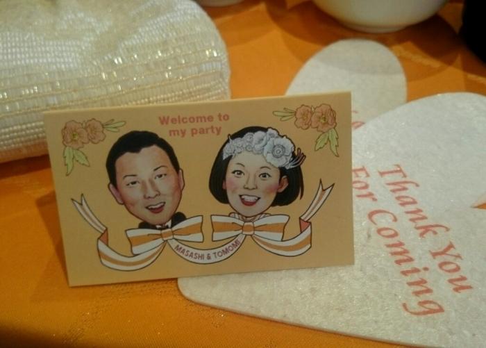 結婚式のウェルカムボード&メッセージカード_f0228652_11301154.jpg