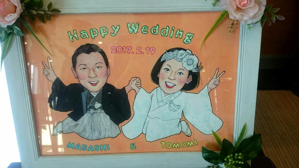 結婚式のウェルカムボード&メッセージカード_f0228652_11301269.jpg