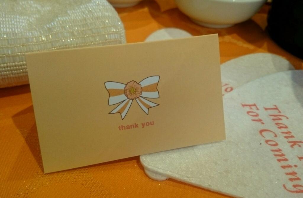 結婚式のウェルカムボード&メッセージカード_f0228652_11301681.jpg