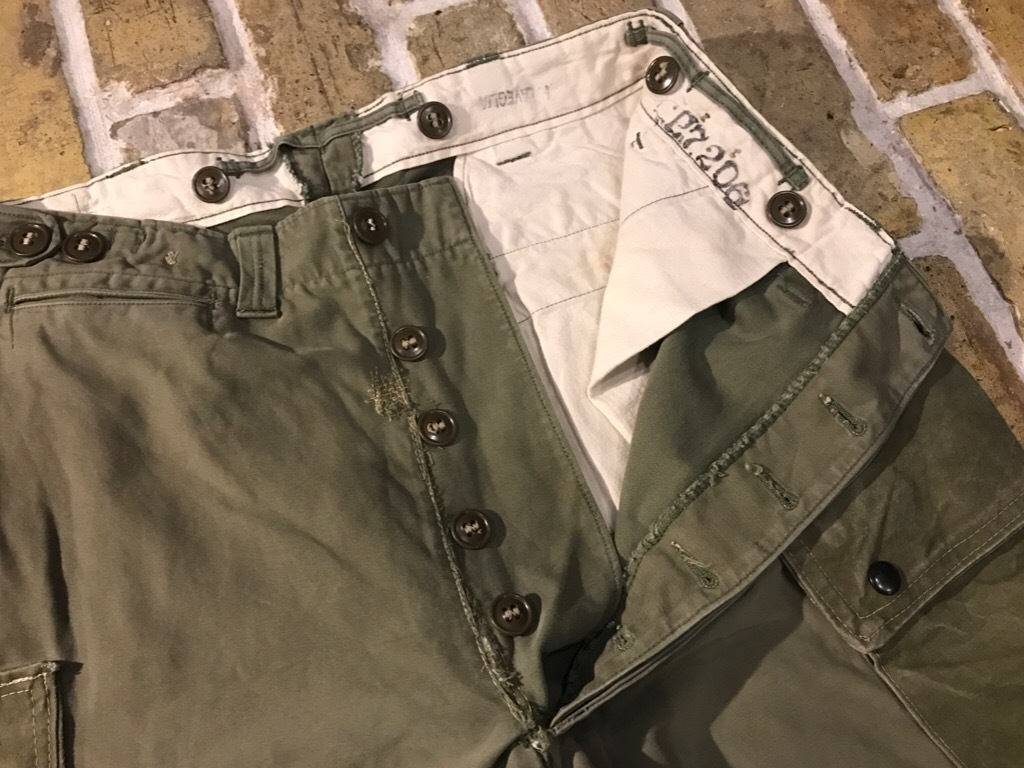 神戸店3/15(水)春物ヴィンテージ入荷!#1 40\'s AirBorne  Parachute Trooper Pants  (M-43Mod)!!! _c0078587_22595224.jpg
